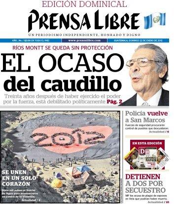 PDF 22012012 - Prensa Libre