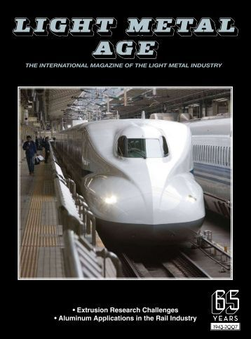 Aluminum Applications in the Rail Industry - The Aluminum ...