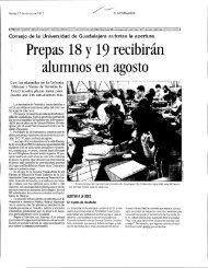 Prepas 18 Y19 recibirán alumnos en agosto - Prensa y ...