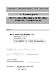 (FNP) (2.5 MB application/pdf) - Stadt Prenzlau