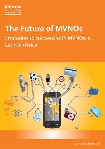 The Future of MVNOs - Prepaid MVNO