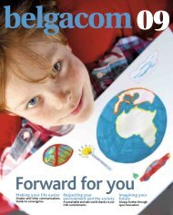 Annual Report 2009 - Belgacom