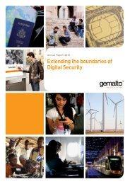 Gemalto Annual Report 2010 - Prepaid MVNO