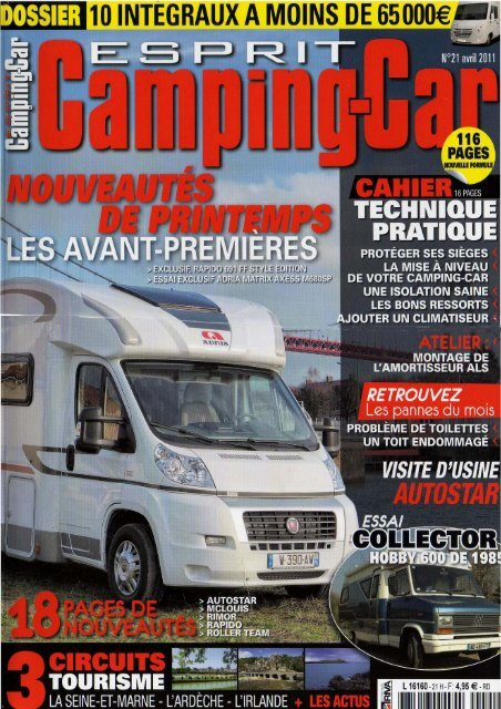 d --Esprit Camping Car Carsupport Avril 2011 - p1 9