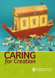 Caring for Creation - Presbyterian Church of Aotearoa New Zealand