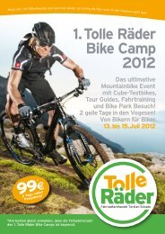 1. Tolle Räder Bike Camp 2012