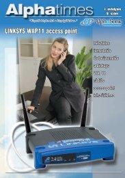 LINKSYS WAP11 access point - Alphasonic