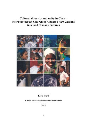 Cultural diversity and unity in Christ: the Presbyterian Church of ...