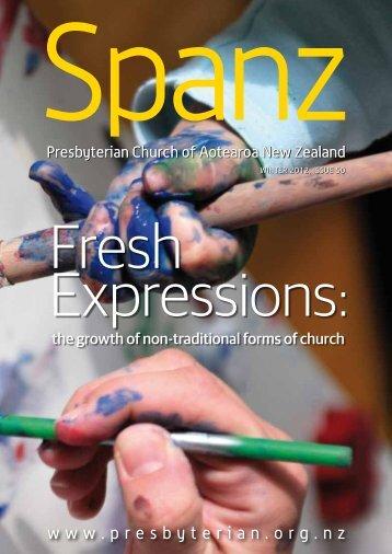 Winter edition of Spanz - Presbyterian Church of Aotearoa New ...