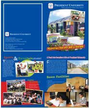 Dormitory Brochure 23April2010 1.indd - President University