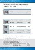 VORTEX- käyttövesipumput - Deutsche Vortex Gmbh & Co. KG - Page 5
