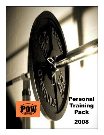 Personal Training Pack 2008 - Emirates Leisure Retail
