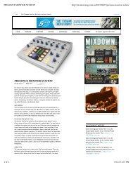 Mixdown Monitor Station review - PreSonus