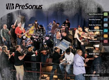 WINTER 2011 www.presonus.com - Go Wild AG