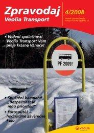 Vedení společnosti Veolia Transport Vám přeje krásné Vánoce!