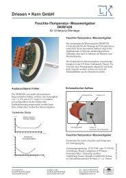 Feuchte-/Temperatur- Messwertgeber DKRF420 - Press1