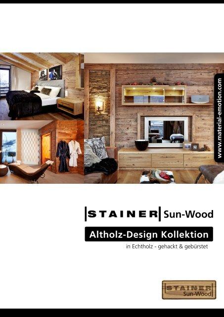 Altholz-Design Kollektion - Press1