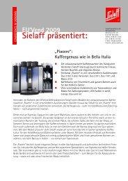 EU'Vend 2009 Sielaff präsentiert - Press1