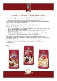 LAMBERTZ – KNUSPER MARSHMALLOWS - Press1