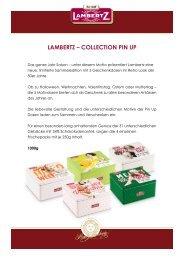 LAMBERTZ – COLLECTION PIN UP - Press1