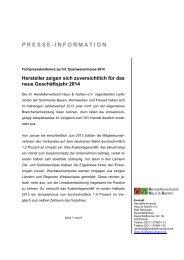 PRESSE-INFORMATION - Press1