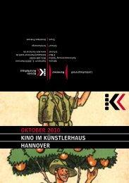 OktOber 2010 kINO IM kÜNStLerhAUS hANNOVer - Presseserver ...