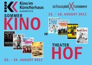 Sommer TheaTer