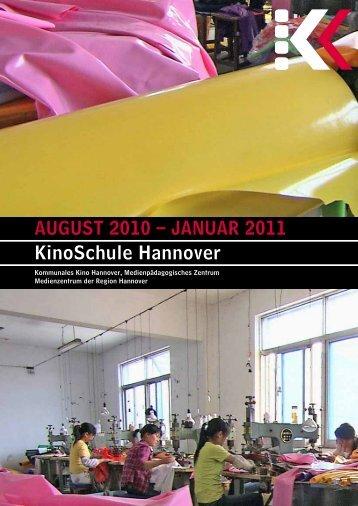 KinoSchule-Programm August 2010 - Januar 2011 - Presseserver ...