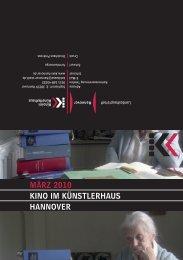 März 2010 KINO IM KÜNSTLErhAUS hANNOVEr - Presseserver der ...