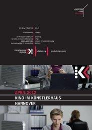 April 2012 KiNO iM KÜNSTlErhAUS hANNOVEr - Presseserver der ...