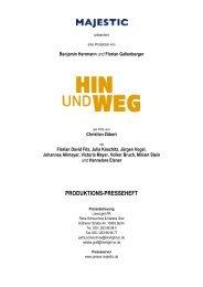 HIN UND WEG Presseheft [*.pdf] - MAJESTIC FILMVERLEIH ...