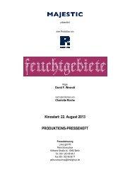 FEUCHTGEBIETE Presseheft [*.pdf] - MAJESTIC FILMVERLEIH ...