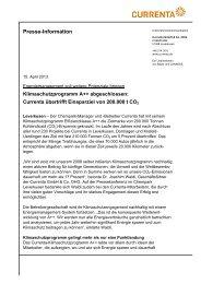 Presseinformation ( PDF 42 KB ) - Presse - Currenta