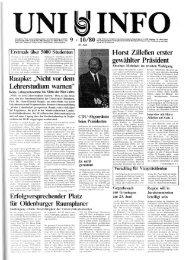 Nr. 9-10 / JUNI 1980 - Presse & Kommunikation - Universität ...