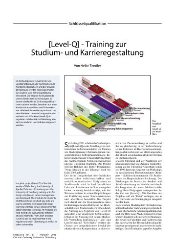 [Level-Q] - Training zur Studium - Presse & Kommunikation ...