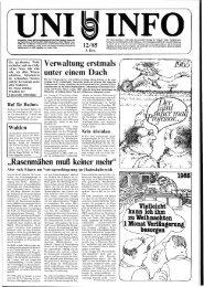 Nr. 12 / DEZEMBER 1985 - Universität Oldenburg