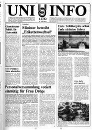 Nr. 14 / SEPTEMBER 1982 - Universität Oldenburg