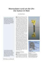Meeresdaten rund um die Uhr - Universität Oldenburg