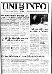 Nr. 6 / APRIL 1980 - Universität Oldenburg