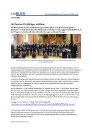 einBLICK als pdf-Datei - Universität Würzburg