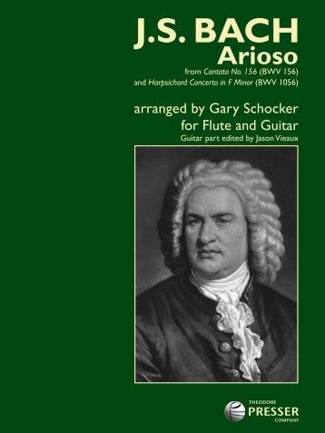 Arioso - the Theodore Presser Company