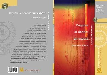 Préparer et donner un exposé - Presses Internationales Polytechnique