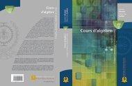 Cours d'algèbre - Presses internationales Polytechnique