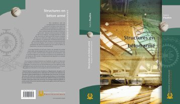 Structures en béton armé - Presses internationales Polytechnique