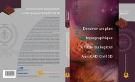 Dessiner un plan topographique à l'aide du logiciel AutoCAD Civil 3D
