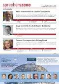 Hoose Regierungssprecher in Sachsen ... - Pressesprecher - Seite 6