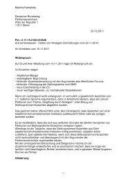 Martina Kamahele Deutscher Bundestag Petitionsausschuss Platz ...