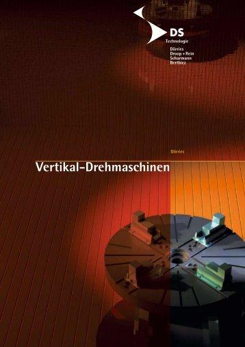 Vertikal-Drehmaschinen - Dörries Scharmann Technologie Gmbh