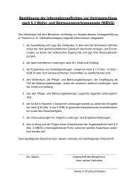 Bestätigung der Informationspflichten vor Vertragsschluss nach § 3 ...