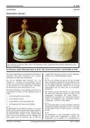 Eine Krone als Dose; Nachtrag zu PK 1999-02 - Pressglas ...